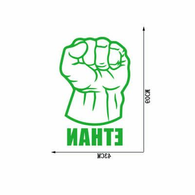 Hulk Fist Wall Superhero Decals Decor