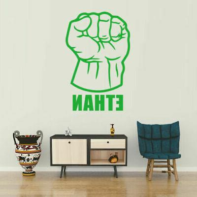 Hulk Fist Wall Kids Room Decor