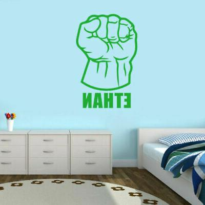 Hulk Superhero Kids Boys Decor
