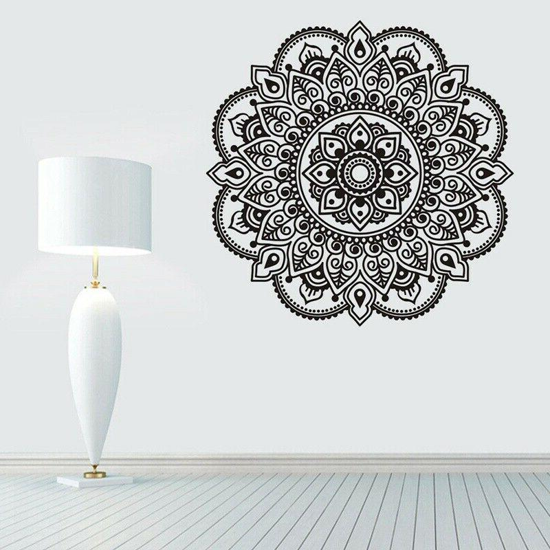 Indian Mandala Wall Removable Decal Window