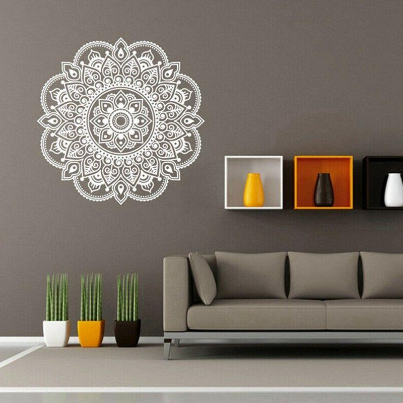 Indian Mandala Removable Decal Window