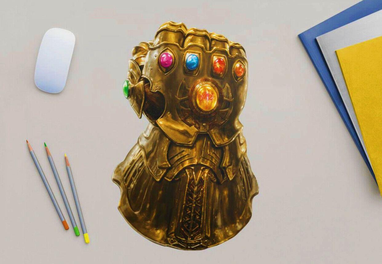 infinity gauntlet large removable wall decals w10