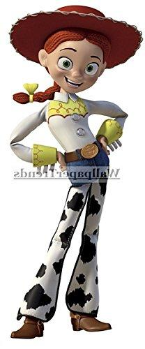 """10"""" Jessie Cowgirl Cow Girl Toy Story Disney Pixar Removable"""