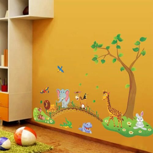 Jungle Wall Decals Nursery Baby US