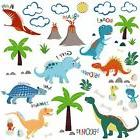 Jurassic World Dinosaurs Decorative Peel  Stick Wall Art Sti