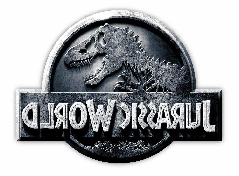 JURASSIC World Sticker Decal *SIZES* Vinyl Wall Logo Safari
