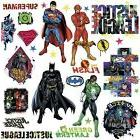 JUSTICE LEAGUE 28 Wall Decals Superman Batman Room Decor Sti