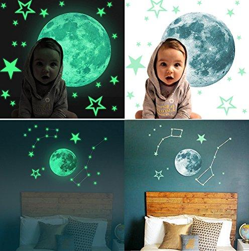 Marsway Kids Stars Glow The Dark Night Luminous Room Decal