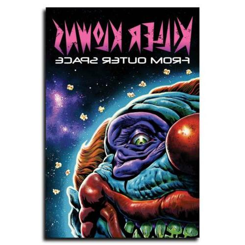 killer klowns from outer space 12x18 24x36inch