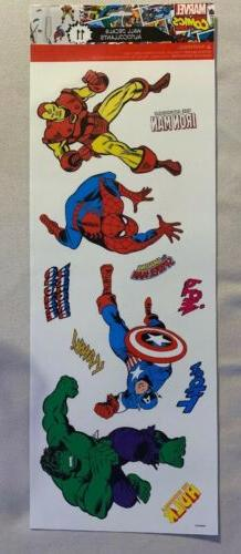 Marvel Comics Wall Decals Autocollants 11 RoomMates ,