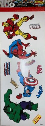 marvel comics wall decals autocollants 11 new