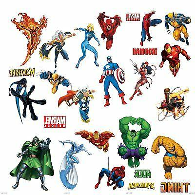 marvel superheroes avengers wall decal spider man