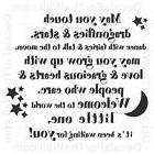 May You Touch Dragonflies and Stars Dance Girl Wall Decal Vi