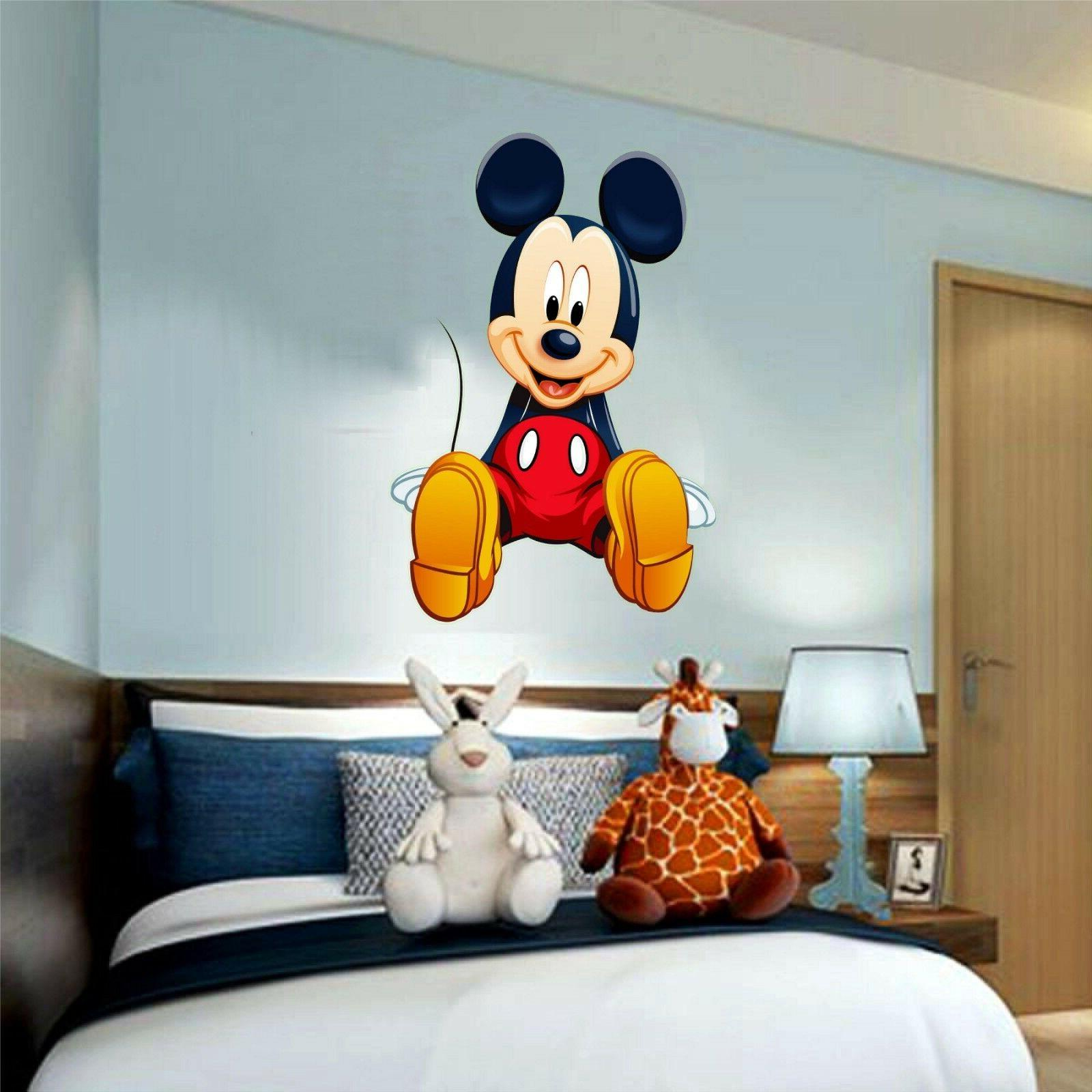 mickey mouse disney 3d window decal wall