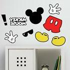 mickey mouse icons peel and stick wall