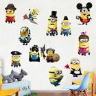 Minions Kids Room Wall Decal 3D Reusable Large Stickers