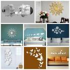 Mirror Wall Stickers 3D Mirror Vinyl Removable Wall Sticker
