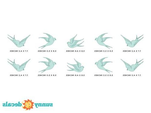Decals, Set Birds - Options
