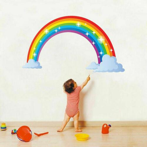 Multicoloured Rainbow Kids Bedroom Nursery