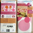 New Room Mates Peel & Stick Pink 20 Removable Circle Dots Wa