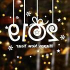 New Year Merry Christmas Snowflake Wall Sticker Home Shop Wi