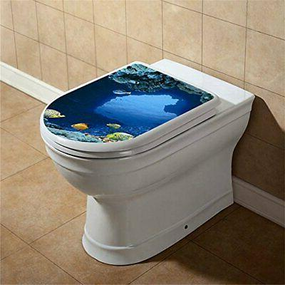 BooDecal Wall Fish Toilet Lid