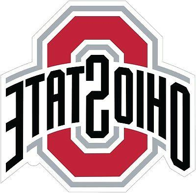 ohio state buckeyes color vinyl decal sticker