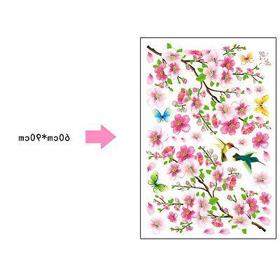 Peach Blossom DIY WALL DECALS Home Deco