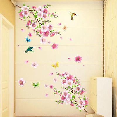 Peach Wallpaper DIY Stickers Home