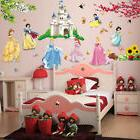 Pretty Princess Castle Wall Decals Removable Stickers Girls