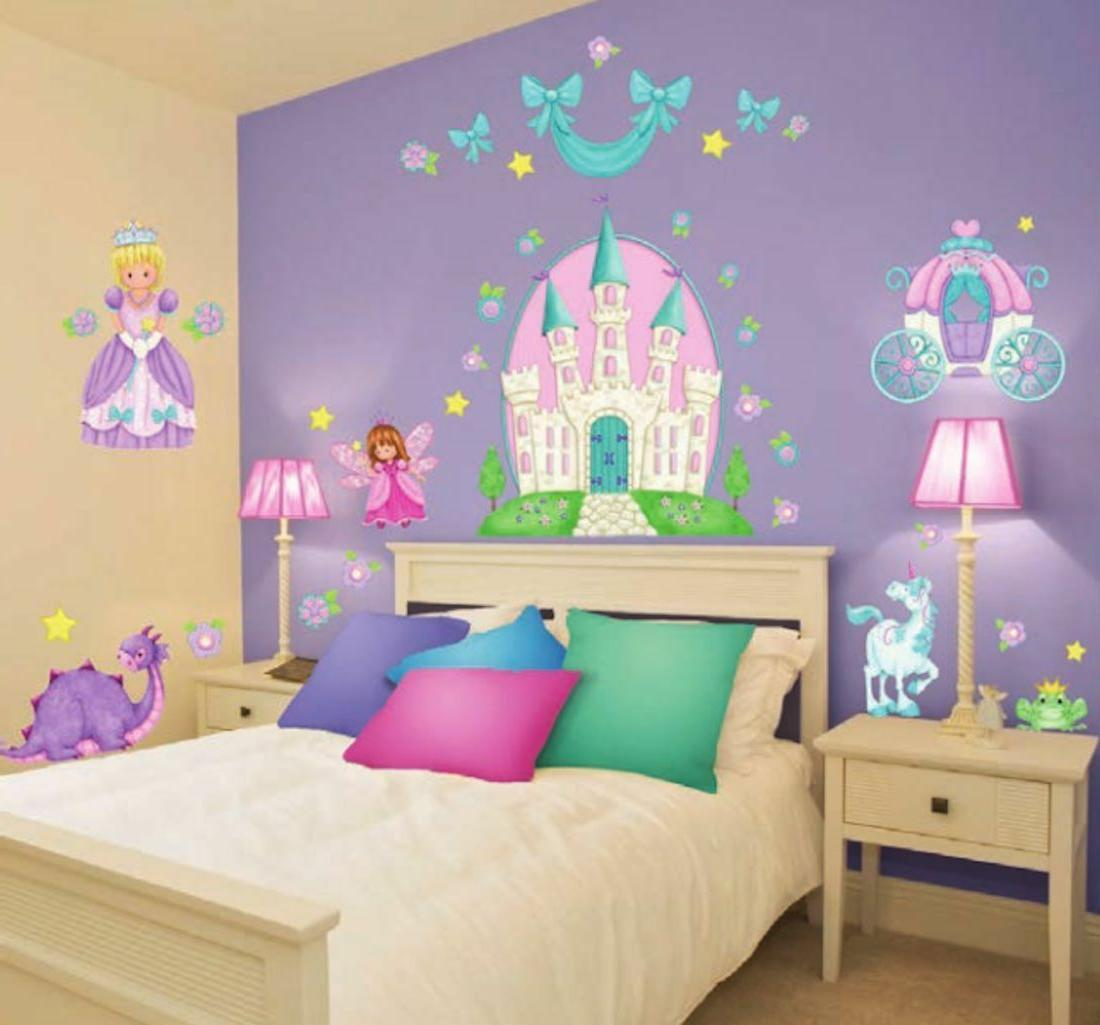 Princess Camryn Stickers Wall Decals Castle