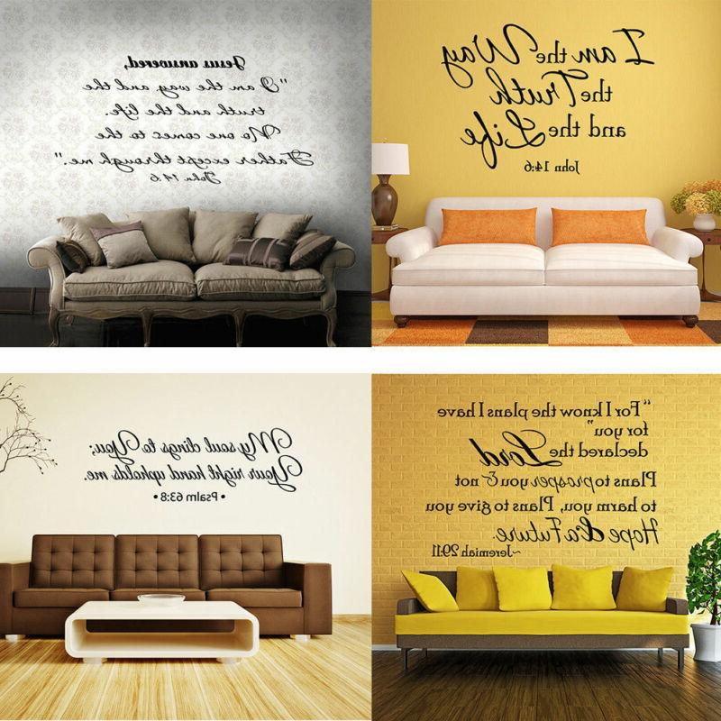 Quote Wall Art Room Decal Home Mural
