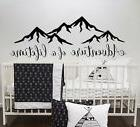 Quotes Wall Decal Adventure of a lifetime Vinyl Decor Boy Nu