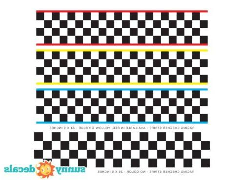 Racing Stripe NASCAR Inspired of Two