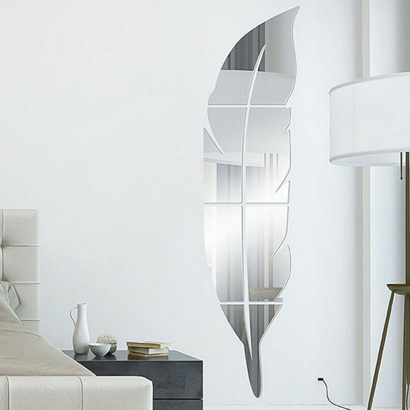Removable 3D DIY Mirror Wall Art Vinyl Home Decor