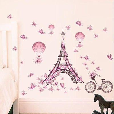 Removable Decals Art Wall Kids Girl US