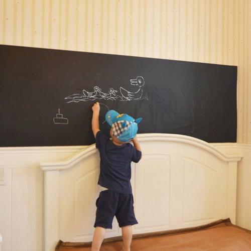 Removable Chalk Board Blackboard 45x182 cm Black Board Decal