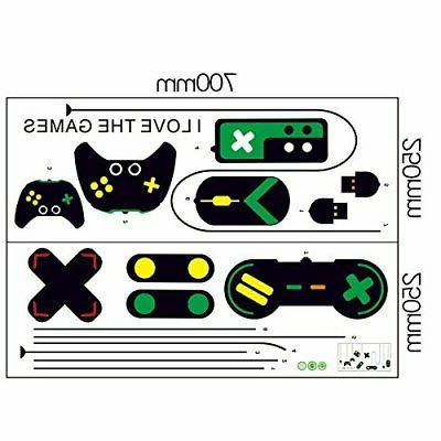 Amaonm Removable Game Controllers Vinyl Peel