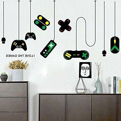 removable creative game controllers vinyl wall decal