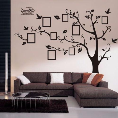 Removable Family Wall Decal Photo