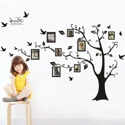 Removable Wall Decal Large Photo Frame