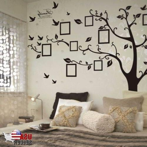 removable family tree wall decal sticker large