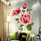 Removable Rose Flower Wall Sticker Vinyl Decal DIY Art Mural