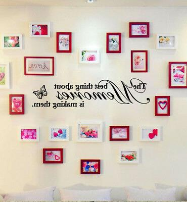 Removable Mural Home Words Living Room Quote Wall