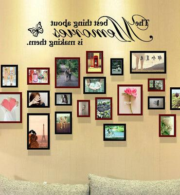 removable vinyl decal art mural home words