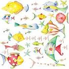 RoomMates RMK1179 Sea Creatures Peel & Stick Wall Decals