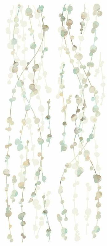 RoomMates Hanging Watercolor Peel Wall Decals, 1-Pack
