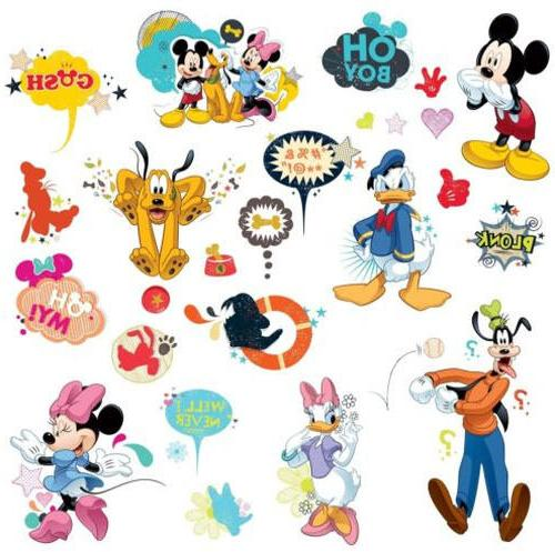 rmk2534scs mickey friends animated fun