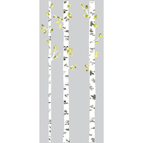 RoomMates RMK2662GM Birch Peel Stick Wall Decals