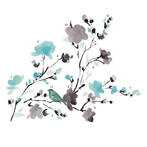 RoomMates WaterColor Branch and Wall Decals,